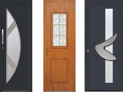Les portes d'entrée plaxées
