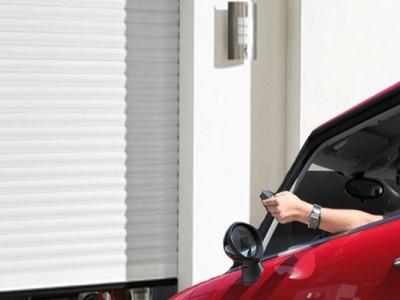 Porte de garage autonome